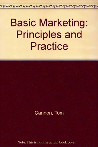 9780304325580: Basic Marketing: Principles and Practice