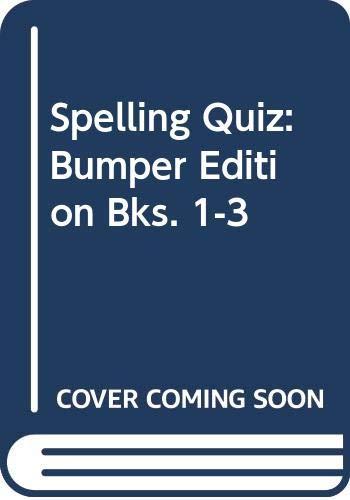 9780304329113: Spelling Quiz: Bumper Edition Bks. 1-3