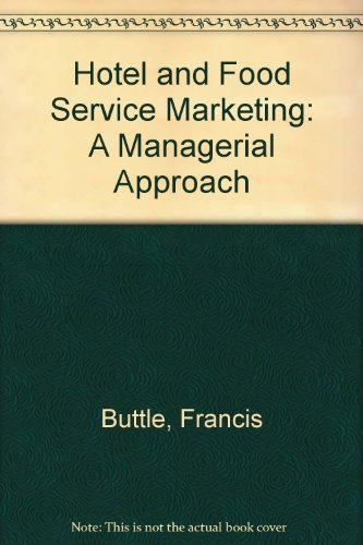 9780304330638: HOTEL AND FOOD SERVICE MARKETING