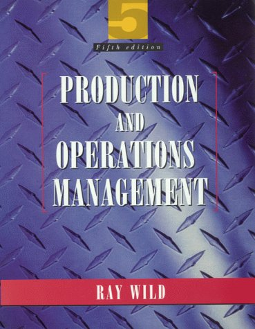 9780304330775: Production and Operations Management: Text and Cases
