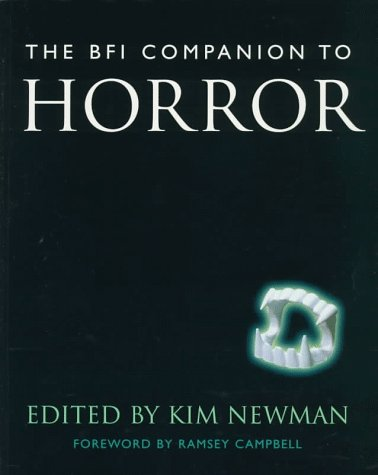 9780304332168: The Bfi Companion to Horror (Cassell Film Studies)