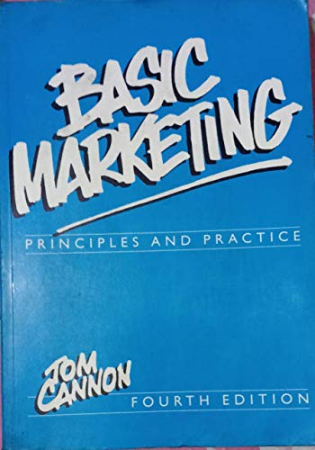 9780304332212: Basic Marketing: Principles and Practice