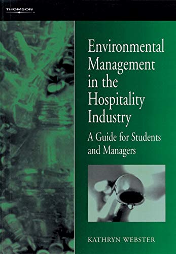 9780304332342: Environmental Management in the Hospitality Industry: A Guide for Students and Managers