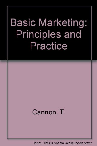 9780304334896: Basic Marketing: Principles and Practice