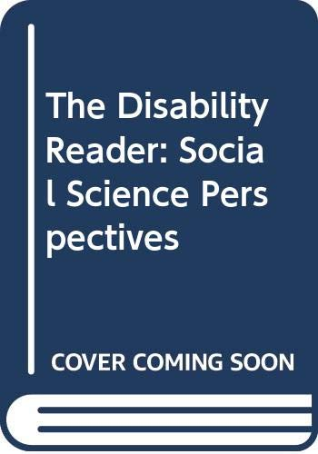 9780304339754: The Disability Reader: Social Science Perspectives