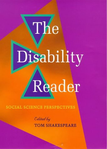 9780304339761: The Disability Reader: Social Science Perspectives