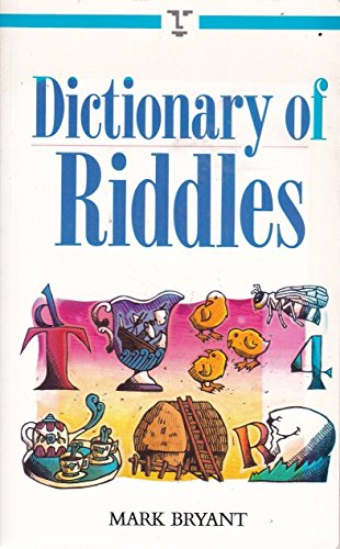 9780304344390: Dictionary of Riddles