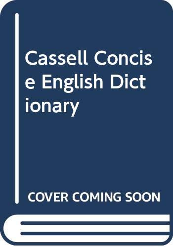 9780304344529: Cassell Concise English Dictionary Plus Atlas and Gazetteer