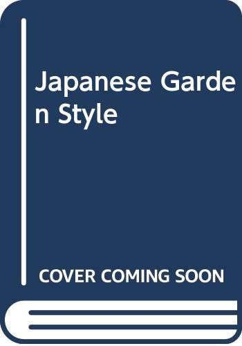 9780304345021: Japanese Garden Style