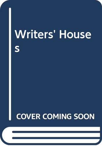 9780304347063: Writers' Houses