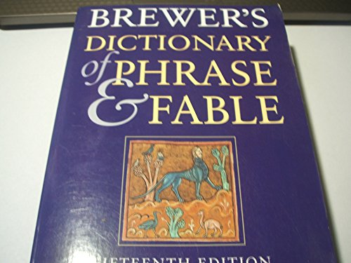 9780304348695: Brewer's Dictionary of Phrase and Fable