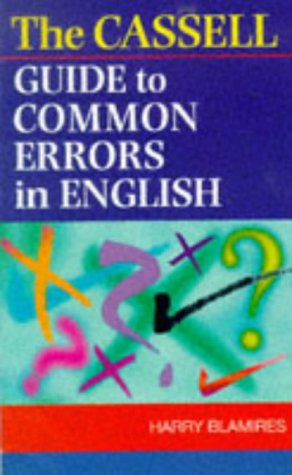 9780304349418: Cassell Guide to Common Errors in English
