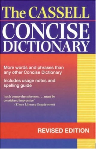 9780304350032: Cassell Concise Dictionary