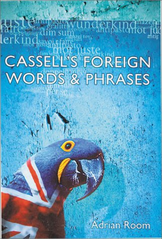 Cassell's Foreign Words & Phrases: Room, Adrian