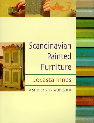 9780304350131: Scandinavian Painted Furniture: A Step-By-Step Workbook