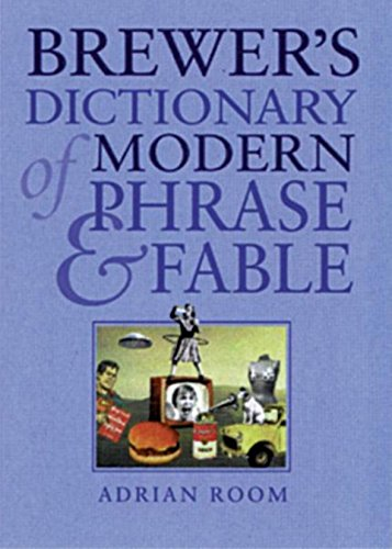 9780304353811: Brewer's Dictionary of Modern Phrase and Fable