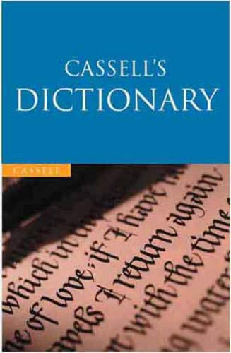 9780304357321: Cassell's English Dictionary (Cassell Value)