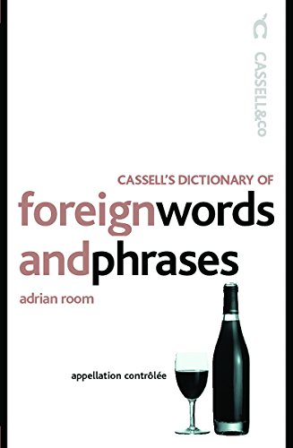 Cassell's Dictionary of Foreign Words and Phrases: Room, Adrian
