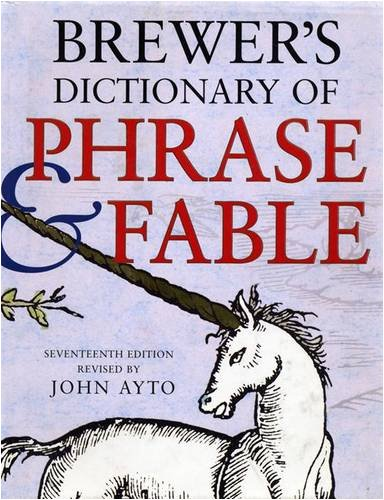 9780304357833: Brewer's Dictionary of Phrase and Fable (Brewer's)
