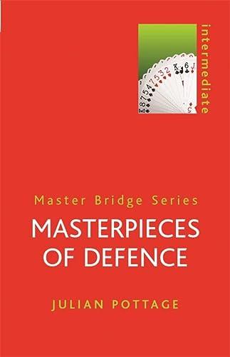 9780304357932: Masterpieces of Defence (MASTER BRIDGE)