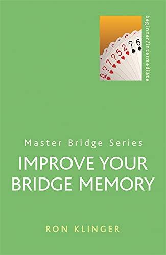 9780304361168: Improve Your Bridge Memory (Master Bridge Series)