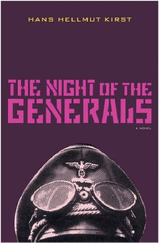 9780304361885: The Night of the Generals: A Novel (Cassell Military Paperbacks)