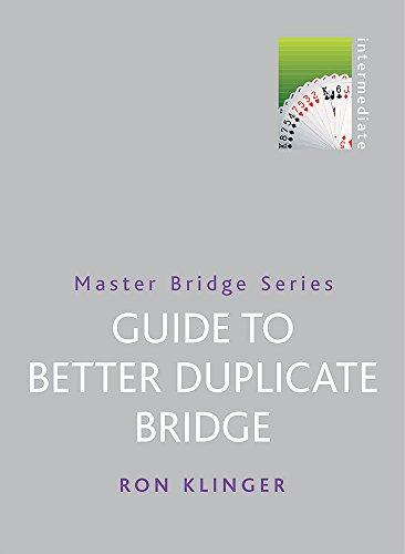 9780304363209: Guide to Better Duplicate Bridge (Master Bridge Series)