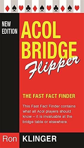 9780304366644: Acol Bridge Flipper (Master Bridge Series)