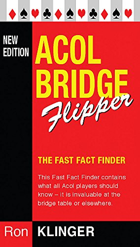 9780304366644: Acol Bridge Flipper (Master Bridge Series)