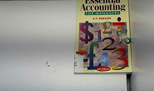 9780304700141: Essential Accounting for Managers