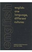 9780304701186: English: One Language, Different Cultures