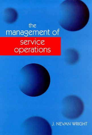 9780304705283: The Management of Service Operations
