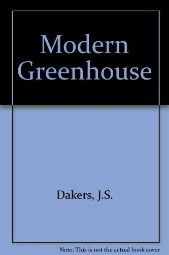 9780304924578: Modern Greenhouse