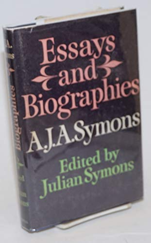 9780304932528: Essays and Biographies