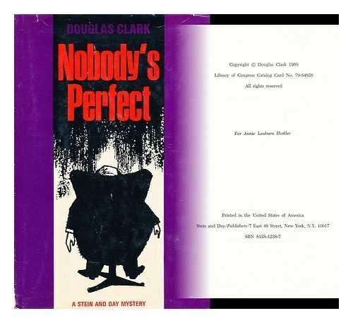 9780304933372: Nobody's Perfect