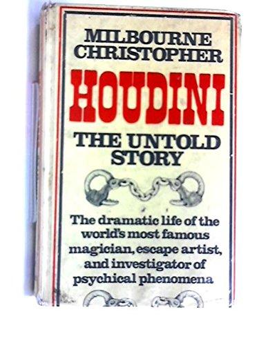 9780304934621: Houdini: The Untold Story