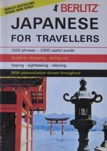 9780304964079: Berlitz Japanese Phrase Book