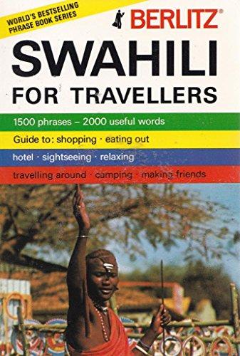 9780304964222: Berlitz Swahili Phrase Book