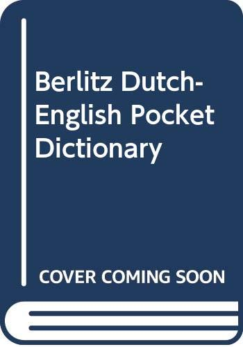 9780304964543: Berlitz Dutch-English Pocket Dictionary