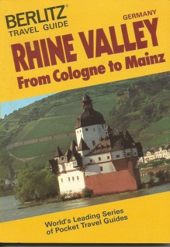 9780304969456: Berlitz Travel Guide to the Rhine Valley