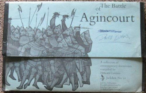 9780305611385: Battle of Agincourt: Collection of Contemporary Documents