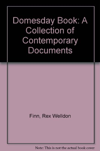 9780305611446: Domesday Book: A Collection of Contemporary Documents
