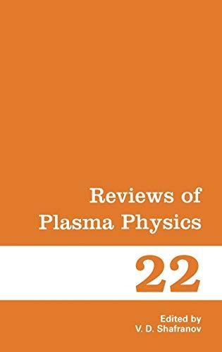 9780306110672: 22: Reviews of Plasma Physics