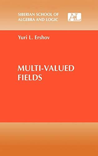9780306110689: Multi-Valued Fields (Siberian School of Algebra and Logic)