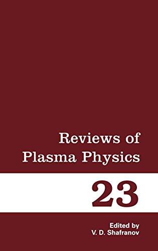 9780306110696: 23: Reviews of Plasma Physics