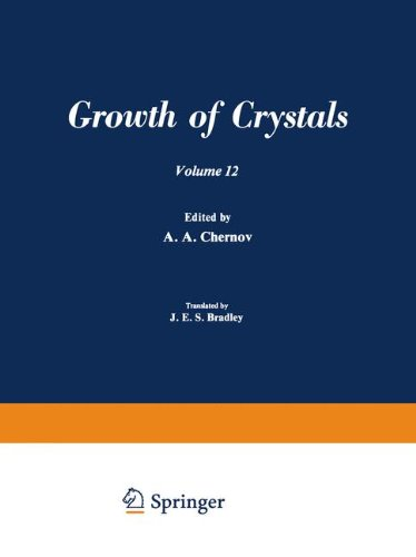 9780306181122: Growth of Crystals