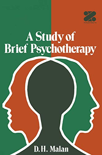 9780306200199: A Study of Brief Psychotherapy (Contemporary Soviet Mathematics)