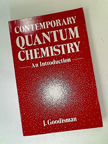 9780306200236: Contemporary Quantum Chemistry