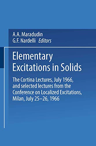 Elementary Excitations in Solids. The Cortina Lectures,: Maradudin, A.A. &