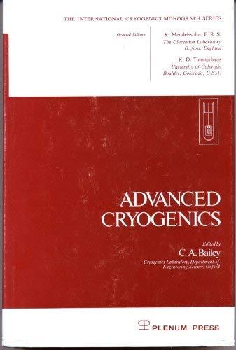9780306304583: Advanced Cryogenics